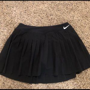 Nike Black Pleated Tennis Skirt / Skort